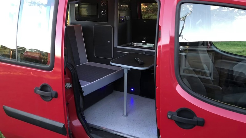 Fiat Doblo Berlingo Kangoo camper campervan conversion