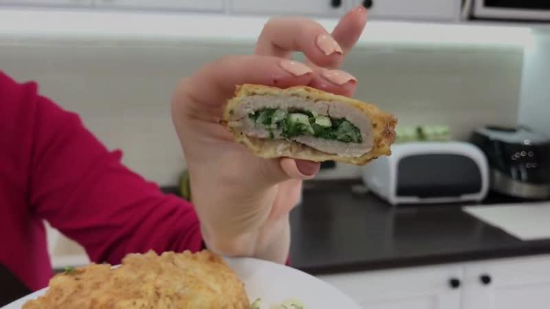Вкусный Обед На Всю Семью Мясные Кармашки С Луком и Зеленью Гарнир Family Lunch Ideas