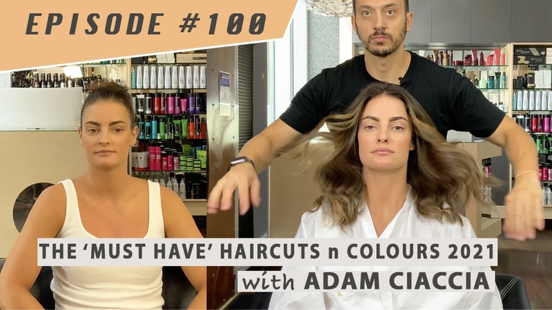 I'm Back Did you miss me Episode 100 Balayage Long Layers with the gorgeous Allegra Petkovich