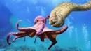 Everyone should watch this War Of The Ocean Floor - Amazing Octopus Fighting