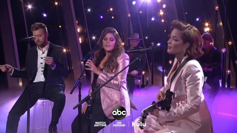 Lady Antebellum Halsey - What If I Never Get Over You, Graveyard (CMA Awards 2019)