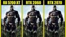 RX 5700 XT vs RTX 2060 vs RTX 2070 in 7 Games 1080p 1440p FRAME RATE TEST COMPARISON