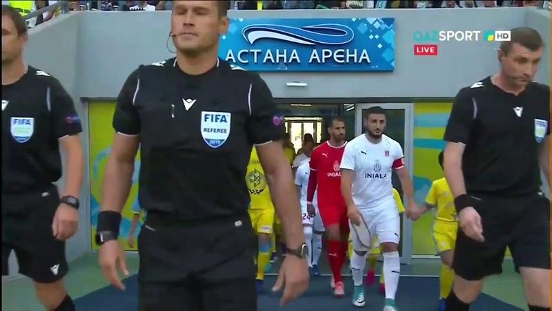 АСТАНА 5:1 Валлетта. УЕФА Еуропа Лигасы