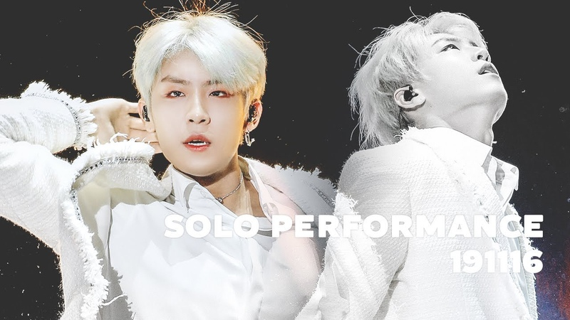 191116 SOLO DANCE PERFORMANCE VLIVE AWARDS PARK WOO JIN 박우진