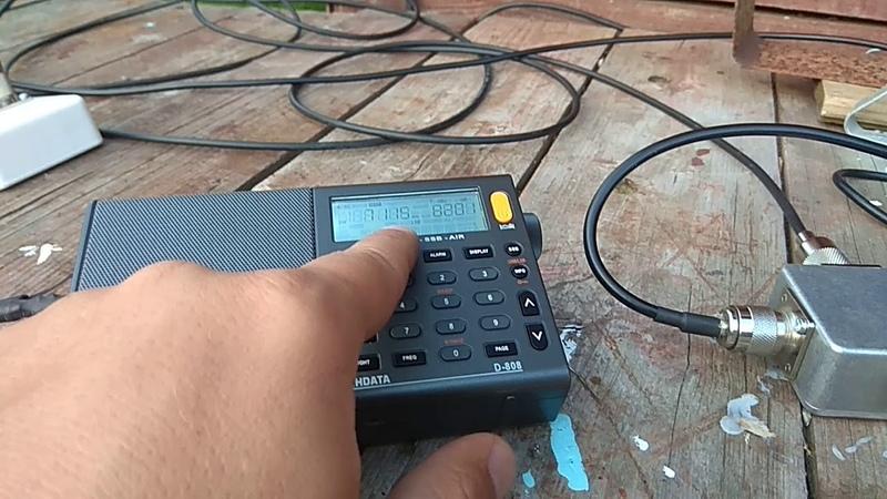 Демонстрация работы приемника Радио 87ВПП и XHDATA D-808