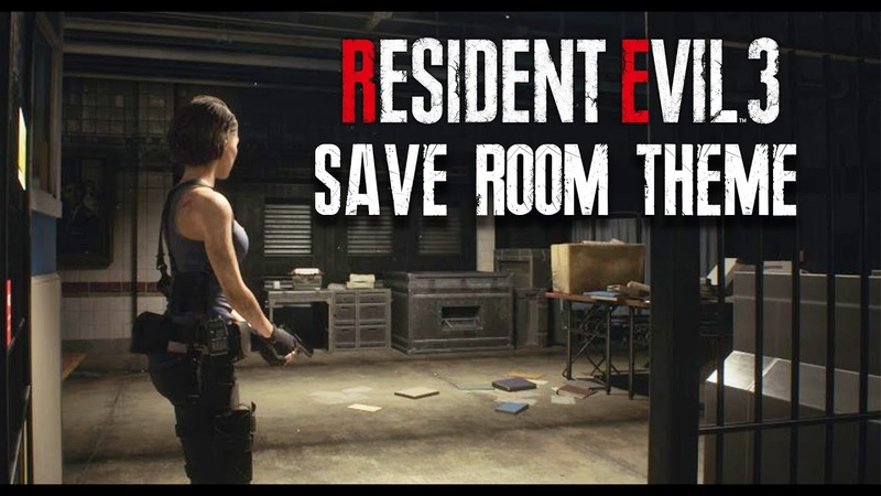RESIDENT EVIL 3 REMAKE OST - Save Room Theme Music (RE 3 Demo Ver.) / Free From Fear