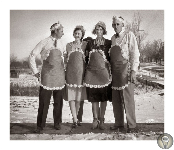 Причудливые ретро фотографии из коллекции Стива Гивена (1900-1960) часть 2 Это семейные фотографии из огромного собрания Стива Гивена (Steve Given), отставного фотографа военно-морского флота и