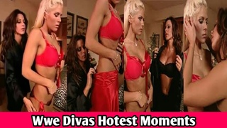 WWE Divas Hottest Moments - Divas Hottest Kissing Competition - Wwe Divas Full Hot Video
