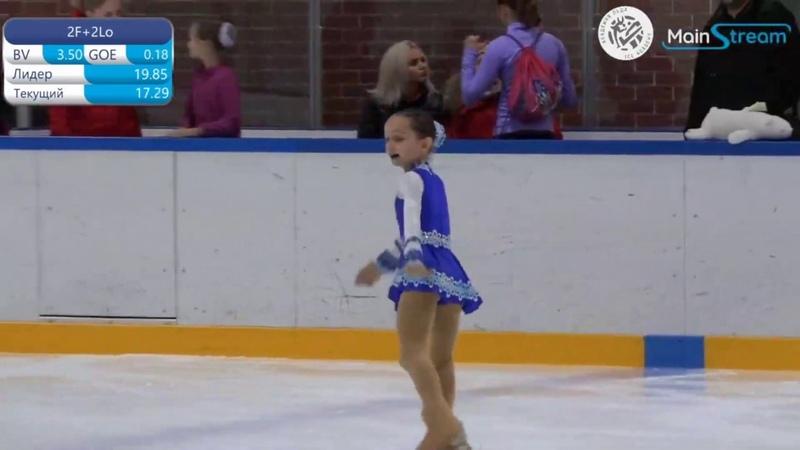 Victoria Shirokova 2011 3rd Sports 2019 11 06 Ice Academy Кубок управы Марьина Роща