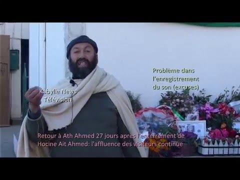 Hocine Ait Ahmed le village Ath Ahmed continue à recevoir des visiteurs