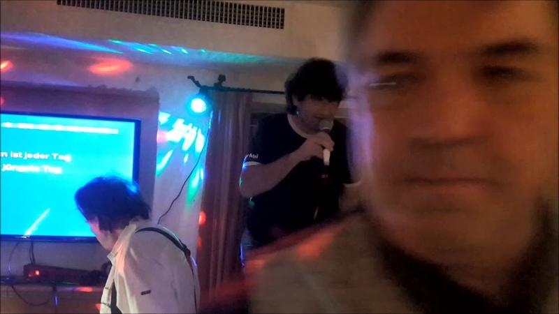 Karaoke beim Gartei Teil 1 @ Milchbar, Reit im Winkl, 7.2.20 ® by HKH Webmaker © www.LosRein.de
