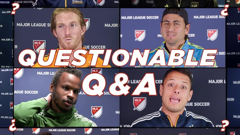 Lebron or Nadal MLS players talk sports pet peeves and Questionable Q A's from Fans