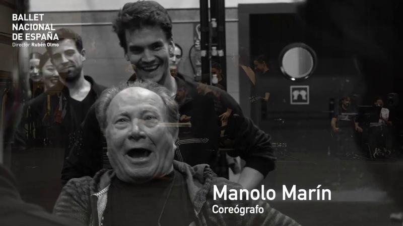 ENSAYOS LOS CINCO TOREROS CON MANOLO MARÍN Ballet Nacional de España
