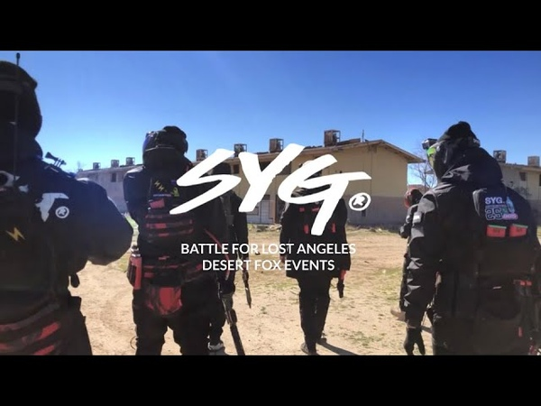SYG Airsoft goes MILSIM Battle For Lost Angeles Desert Fox Events on a Abandoned Military Base