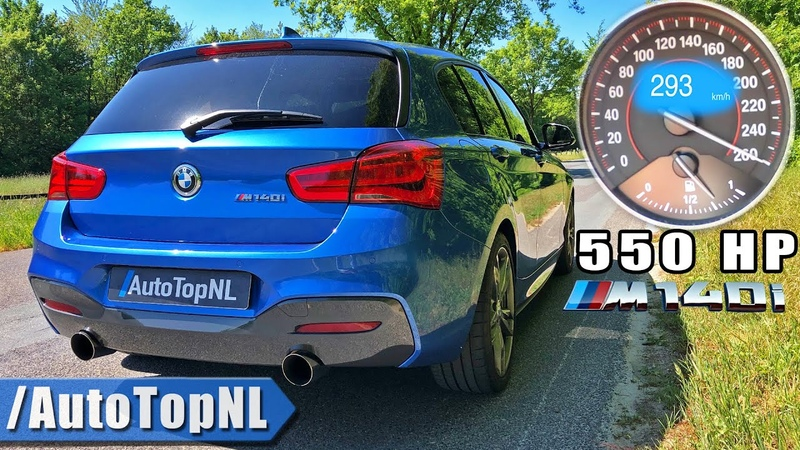 550HP BMW M140i xDrive *INCREDIBLE* 0 290km h ACCELERATION by AutoTopNL