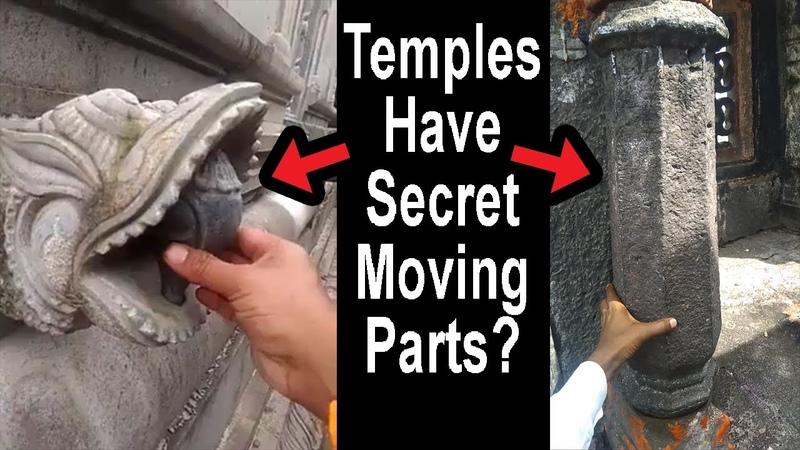 Ancient Temples are MACHINES with MOVING parts