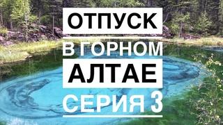 Отпуск в Горном Алтае. Акташ, база Зелёный колобок, гейзерное озеро, питомник зубров. Серия 3