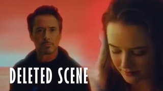 Deleted Scene Avengears End Game Tony Meets Morgan in Soul World