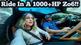 Ride Along in a 1000+ horsepower Z06 Corvette!