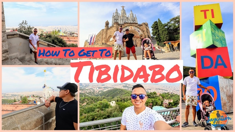 HOW TO GET TO TIBIDABO Barcelona Spain Day Trip Travel Guide