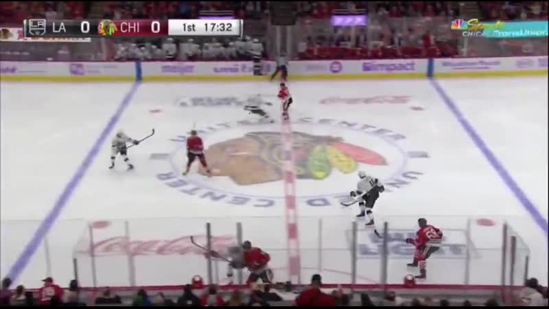 Koekkoek with the neutral zone pass to DeBrincat and he finds Strome in the slot