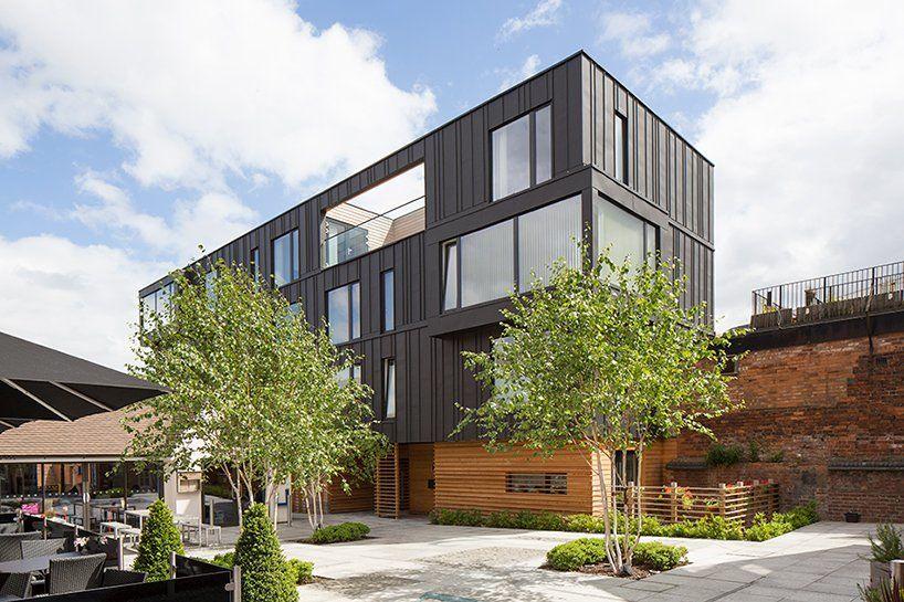 BPN architects adds zinc-clad residences to birmingham's school yard development