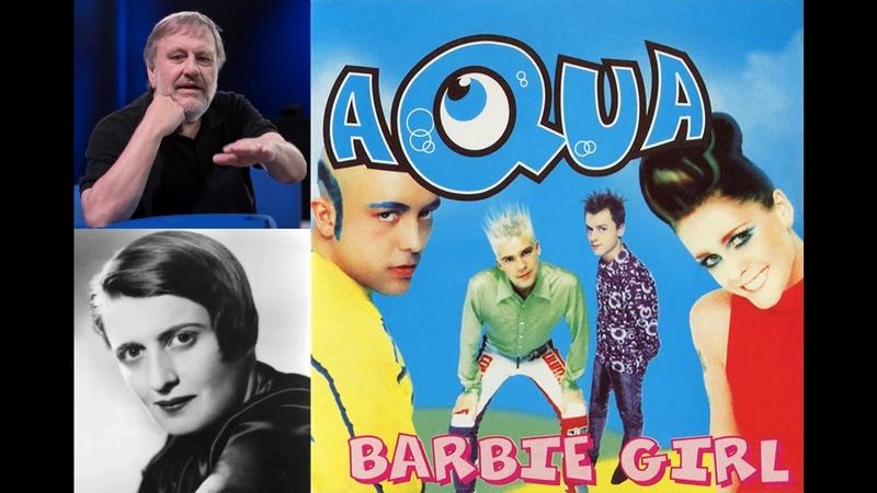 Ayn Rand and Slavoj Žižek read Barbie Girl by Aqua Speech Synthesis