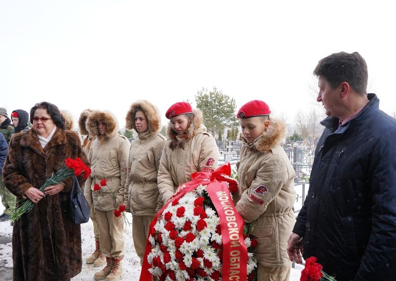 В Подмосковье почтили память Героя России Сергея Фирсова, изображение №6