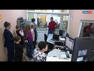 Юные блогеры побывали на экскурсии в ЕЛЕЦ ТВ