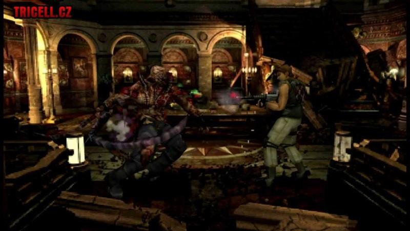 Resident Evil 3 Nemesis second form vs machinegun