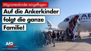 Auf Ankerkinder folgt der Familiennachzug! - AfD-Fraktion im Bundestag