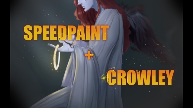 Crowley ( Speedpaint) / Good Omens/
