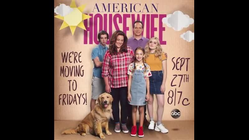 Промо ролик к 4 сезону сериала Американская домохозяйка .