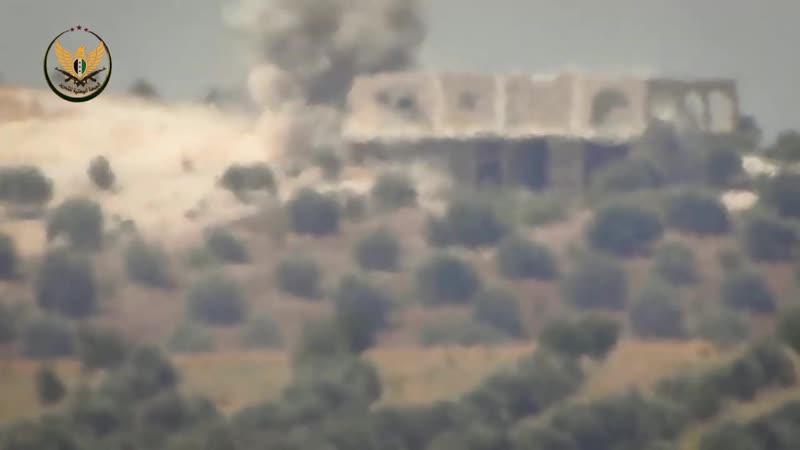 Танк Асада был уничтожен на оси Таль-аль-Нимр в южной части Идлиба