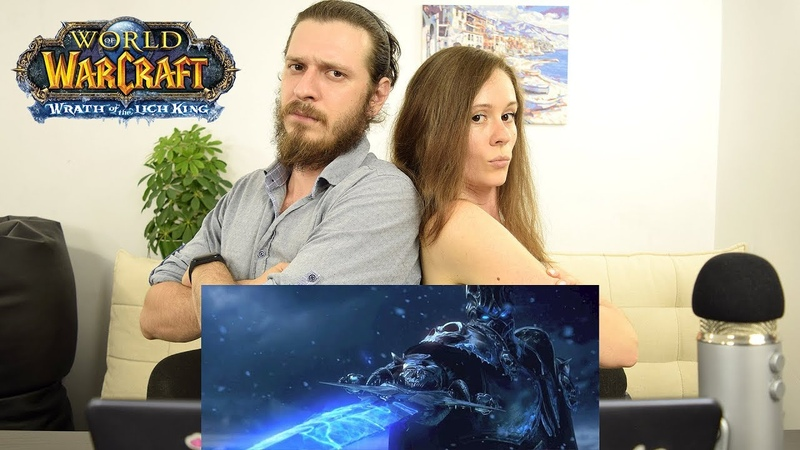 World of Warcraft Wrath of the Lich King | Реакция на трейлер