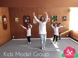Танец в русском стиле kids model group
