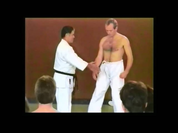 Higaonna Sensei - Sanchin Breathing and Application