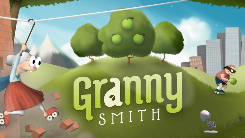 1687-Granny Smith Game Logo Spoof Pixar Lamps Luxo Jr