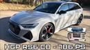 2020 HGP Audi RS6 (C8) - 786 PS | inkl. Technikpart | 0-200 km h Racelogic 🔥🔥🔥
