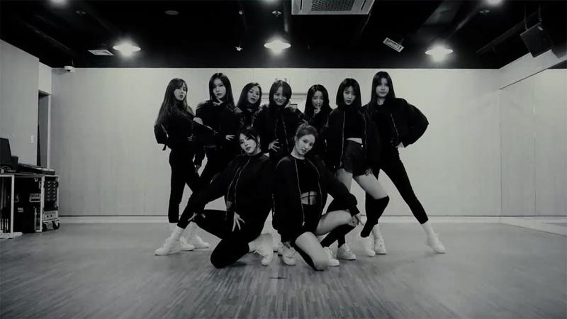 Gugudan 구구단 The Boots Dance Practice Mirrored