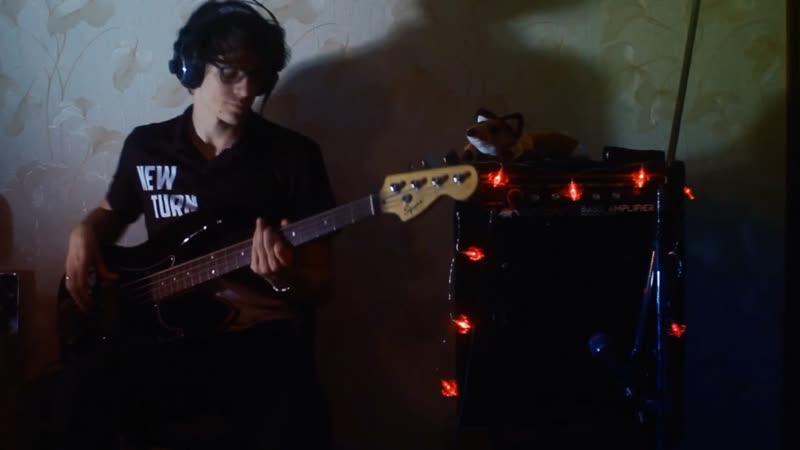 AnimalДжаz/o.torvald - чувства (bass cover)