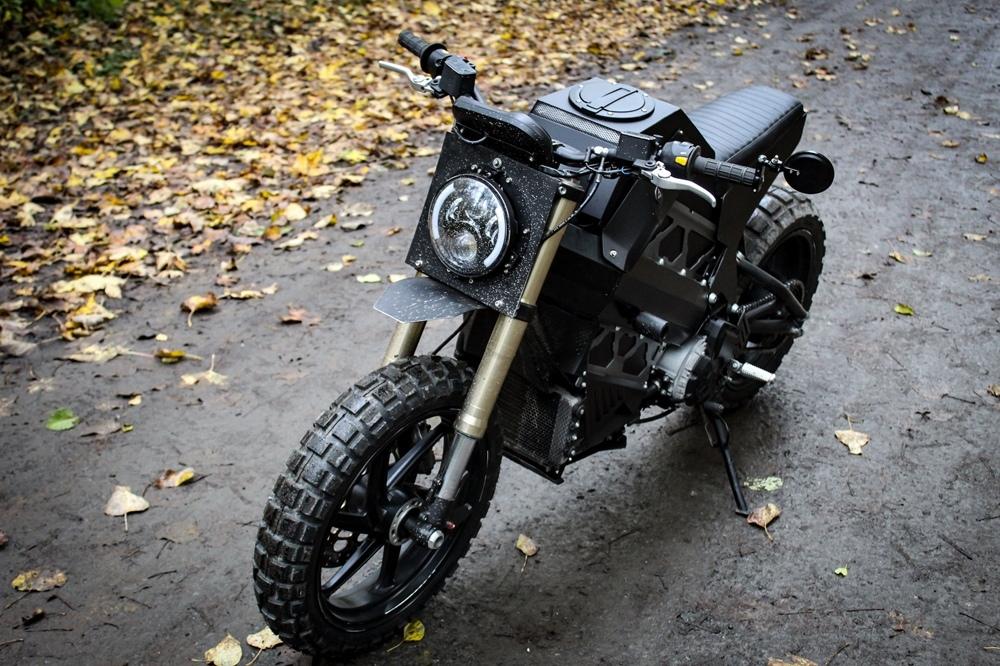 Droog Moto: электрический скрэмблер