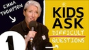 Meryl Streep's a VERY good snogger! : Kids Ask Emma Thompson Difficult Questions