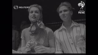ITALY: MOTOR RACING - Tragedy of Mille Miglia when Marquis de Portago's car crashes (1957)