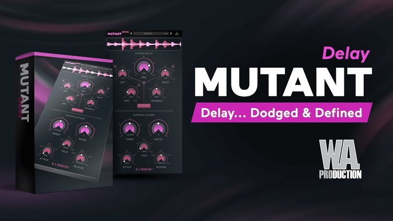 MUTANT Delay - Vocal Delay Plugin With a Built-in Ducker (VST AU AAX)