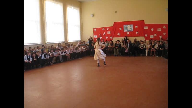 танец Варенька исполняет Вера Иванова анс. Весна