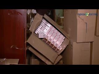 В Пензенской области полиция изъяла более 66 тысяч пачек сигарет