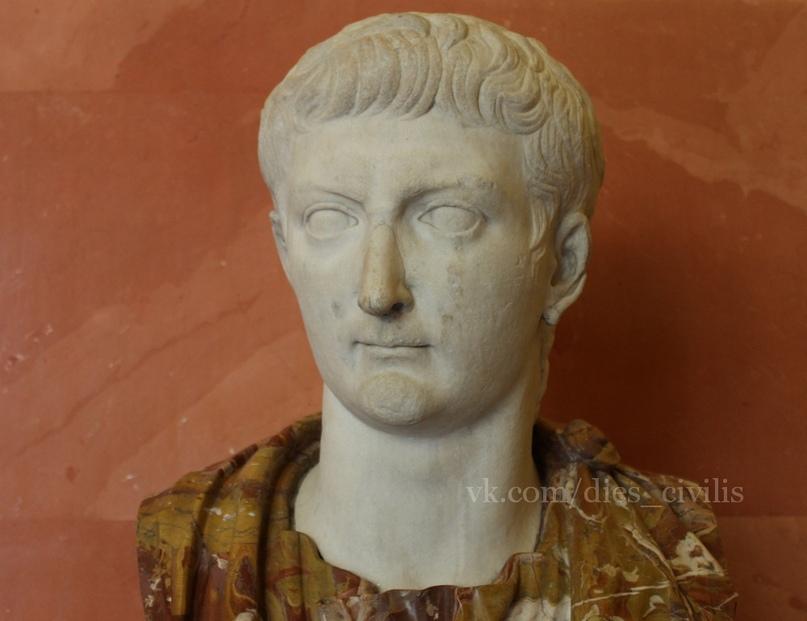 Тиберий, наследник Августа и второй римский император (Государственный Эрмитаж).