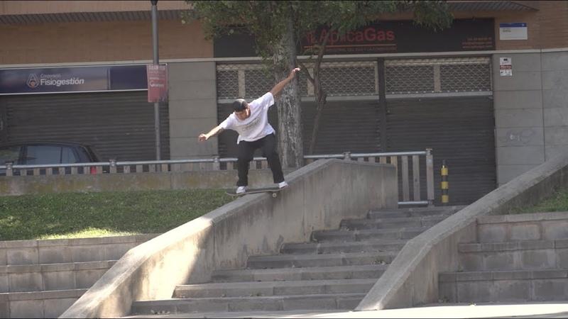 DC Skateboarding Spain clip 2019