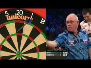 Ian White vs William O'Connor (PDC Players Championship Finals 2019/ Quarter Final)